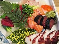 出張寿司-刺身盛り合わせ